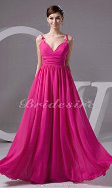 kjole med lange armer